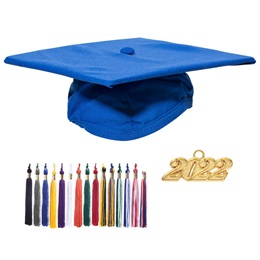 Adult Graduation Cap & Tassel Set - Matte