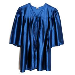 Child Graduation Gown - Shiny